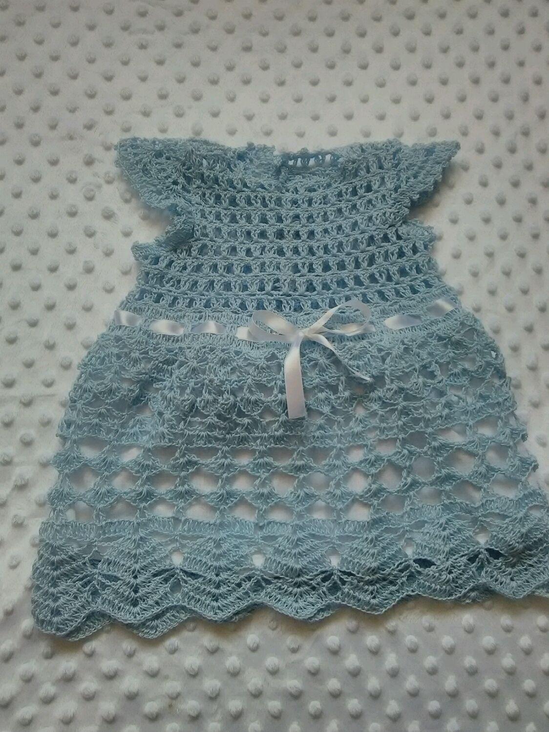 """Платье рост 62-68 для малышки """"Голубой ажур"""", Dresses, Ufa,  Фото №1"""