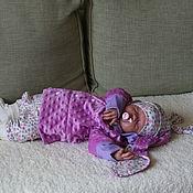 """Работы для детей, ручной работы. Ярмарка Мастеров - ручная работа Комплект """"Зайка - цветочная поляна"""".. Handmade."""