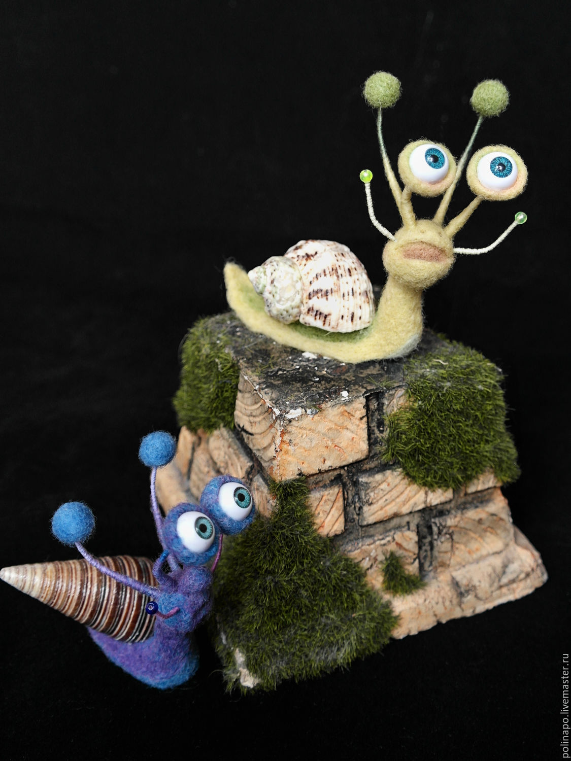 Snails, Stuffed Toys, Moscow,  Фото №1