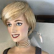 Винтаж handmade. Livemaster - original item Vintage: Vintage: Princess Diana portrait doll from the Franklin mint in the box. Handmade.