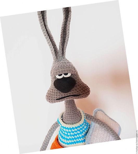 """Игрушки животные, ручной работы. Ярмарка Мастеров - ручная работа. Купить Заяц """" Доброе утро?..."""". Handmade. Заяц"""
