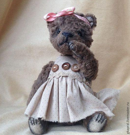 Мишки Тедди ручной работы. Ярмарка Мастеров - ручная работа. Купить Софи. Handmade. Коричневый, сшить мишку тедди, подарок