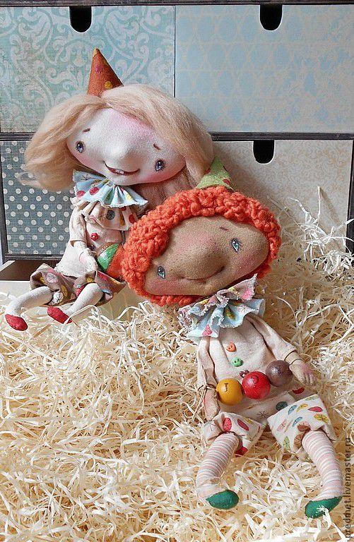 Коллекционные куклы ручной работы. Ярмарка Мастеров - ручная работа. Купить Чудесариум. Handmade. Акробаты, клоуны, акрил
