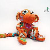 Куклы и игрушки ручной работы. Ярмарка Мастеров - ручная работа Обезьянка Рыжик. Handmade.
