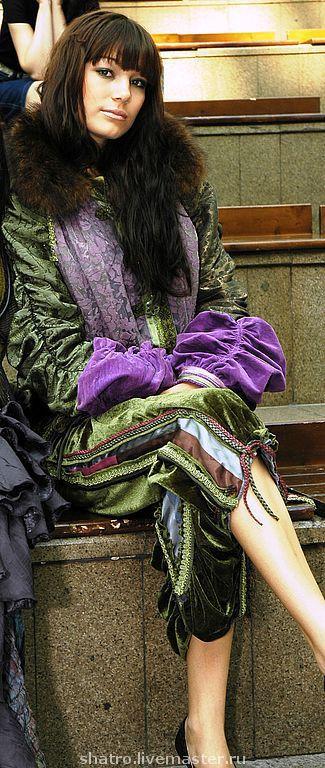 Верхняя одежда ручной работы. Ярмарка Мастеров - ручная работа. Купить КУРТОЧКА ГЛАМУРНАЯ. Handmade. Авторский дизайн, подарок на свадьбу