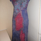 Одежда handmade. Livemaster - original item Summer wool felted dress.. Handmade.
