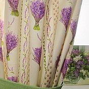 Для дома и интерьера ручной работы. Ярмарка Мастеров - ручная работа Мелодия Прованса комплект штор. Handmade.