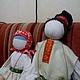 Народные куклы ручной работы. Куклы русские, пара. Дарья Хох. Интернет-магазин Ярмарка Мастеров. Большие куклы, мотанка