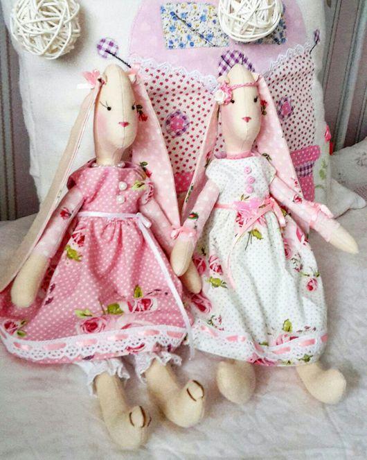 Куклы Тильды ручной работы. Ярмарка Мастеров - ручная работа. Купить Тильды разные-сердечки-коровки-зайки-петушки-мышки..... Handmade.