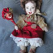 Куклы и игрушки ручной работы. Ярмарка Мастеров - ручная работа Катарина - дитя Венеции.. Handmade.