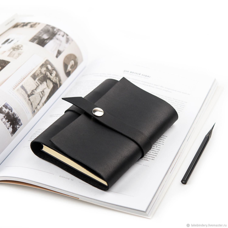 Кожаный блокнот на кольцах А6 компактный блокнот из натуральной кожи, Блокноты, Москва,  Фото №1