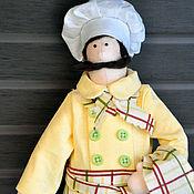 Куклы и игрушки ручной работы. Ярмарка Мастеров - ручная работа повар. Handmade.