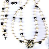 Украшения handmade. Livemaster - original item More jewelry natural pearl set. Handmade.