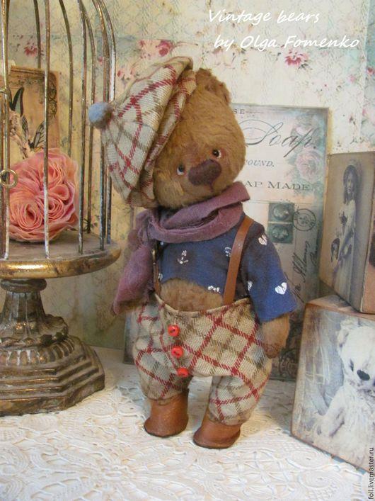 Мишки Тедди ручной работы. Ярмарка Мастеров - ручная работа. Купить Мишка Ватсон. Handmade. Мишка, подарок, опилки