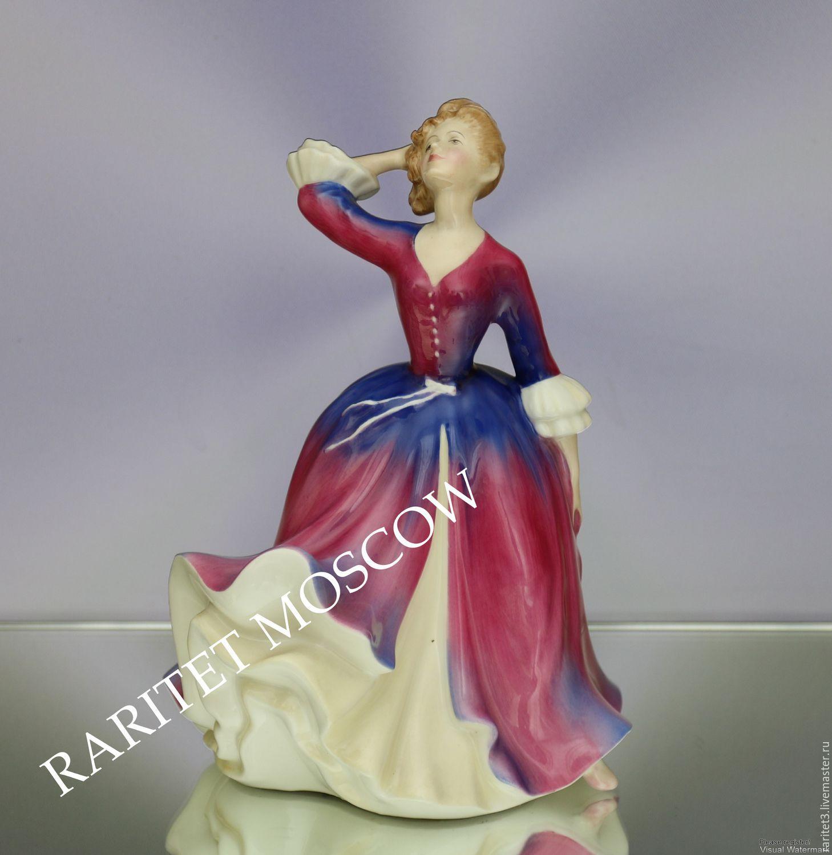 Винтаж: Девушка MELISSA Royal Doulton Англия 55, Винтажные предметы интерьера, Москва, Фото №1