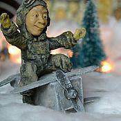 Портретная кукла ручной работы. Ярмарка Мастеров - ручная работа Портретная статуэтка -сувенир. Handmade.