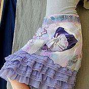 Одежда ручной работы. Ярмарка Мастеров - ручная работа Юбка бохо валяная с оборками. Handmade.