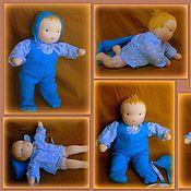 Куклы и игрушки ручной работы. Ярмарка Мастеров - ручная работа Кукла-младенец 20-24 см. Handmade.