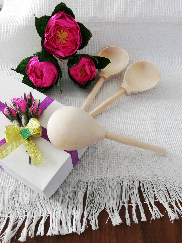 Ложка полубаска деревянная, Ложки, Семенов,  Фото №1