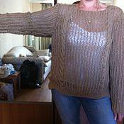 """Одежда ручной работы. Ярмарка Мастеров - ручная работа Пуловер """"Сол Люкс"""". Handmade."""