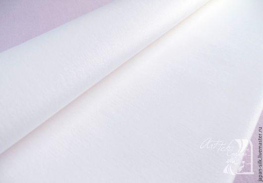 Ткань для цветов ручной работы. Ярмарка Мастеров - ручная работа. Купить Плосковорсинчатый бархат. Handmade. Белый, велюр, ткани из японии