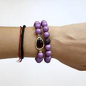 Украшения handmade. Livemaster - original item A set of bracelets from Mallorca. Handmade.