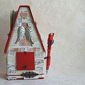 Подарки к праздникам ручной работы. Ярмарка Мастеров - ручная работа домик Любовные письма. Handmade.