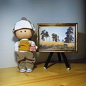 Куклы и пупсы ручной работы. Ярмарка Мастеров - ручная работа Интерьерная/игровая кукла-мальчик. Handmade.