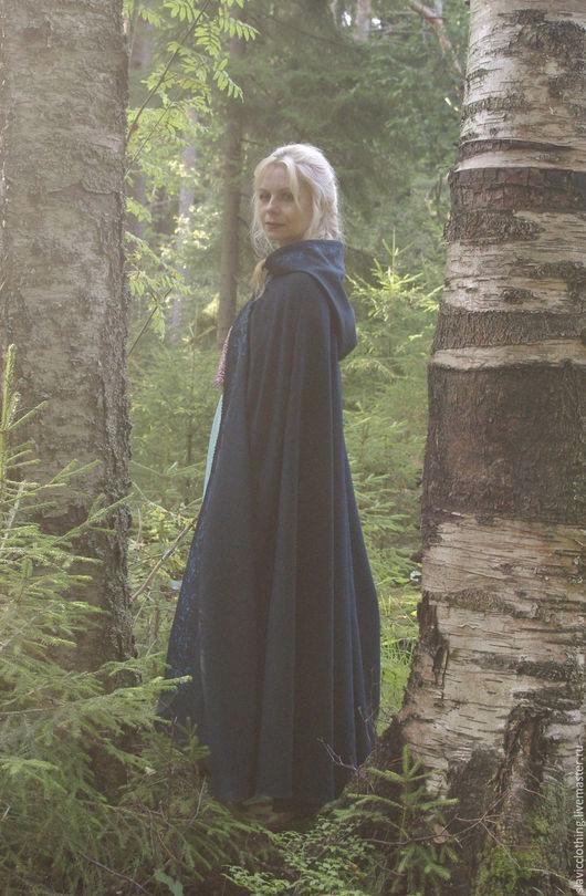 Этническая одежда ручной работы. Ярмарка Мастеров - ручная работа. Купить средневековый плащ. Handmade. Средневековое платье