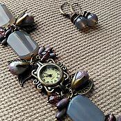 handmade. Livemaster - original item Watch ( gift) Purple morning. Handmade.