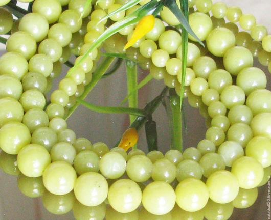 Для украшений ручной работы. Ярмарка Мастеров - ручная работа. Купить Жадеит лимонный  3 размера. Handmade. Лимонный