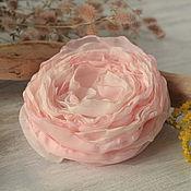 Украшения handmade. Livemaster - original item Brooch, barrette fabric Breath. Handmade.