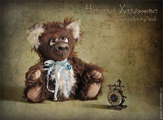 Мишки Тедди ручной работы. Ярмарка Мастеров - ручная работа. Купить Интерьерный мишка Мечтатель. Handmade. Мишки тедди