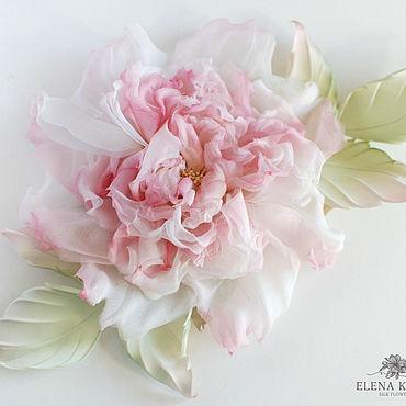 Flowers and floristry handmade. Livemaster - original item Silk flowers. Rose Leah.. Handmade.