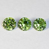 Материалы для творчества handmade. Livemaster - original item Demantoid. Elizabethan. 0.59/0.58/0.52 carats.. Handmade.