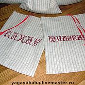 Для дома и интерьера ручной работы. Ярмарка Мастеров - ручная работа Набор мешочков для сыпучих  продуктов. Handmade.