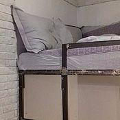 Для дома и интерьера ручной работы. Ярмарка Мастеров - ручная работа Кровать чердак со столом в стиле лофт.. Handmade.