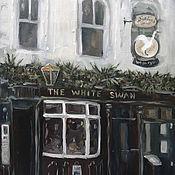 Картины и панно handmade. Livemaster - original item London Oil Painting Pub Cityscape Architecture. Handmade.