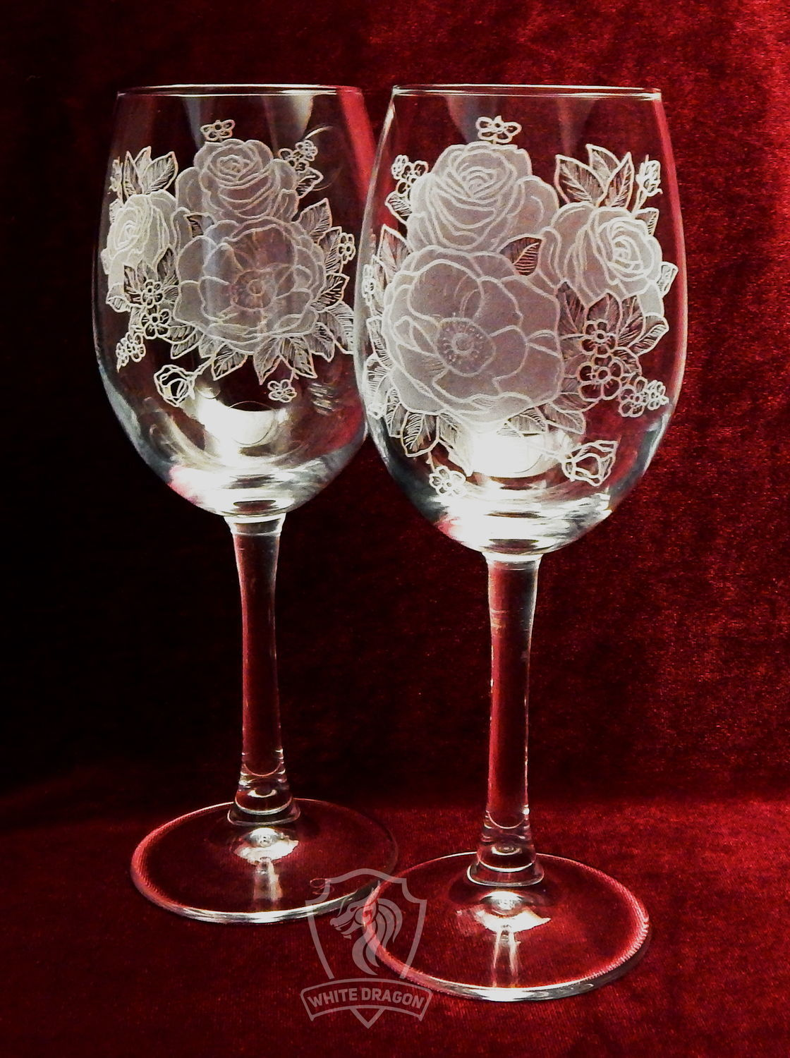 Wild rose color. Glasses, Wine Glasses, Nizhny Novgorod, Фото №1