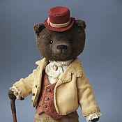 Куклы и игрушки ручной работы. Ярмарка Мастеров - ручная работа Samuel - коллекционный мишка тедди. Handmade.