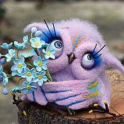 """Куклы и игрушки ручной работы. Ярмарка Мастеров - ручная работа Совушка """"Мечтательница"""". Handmade."""