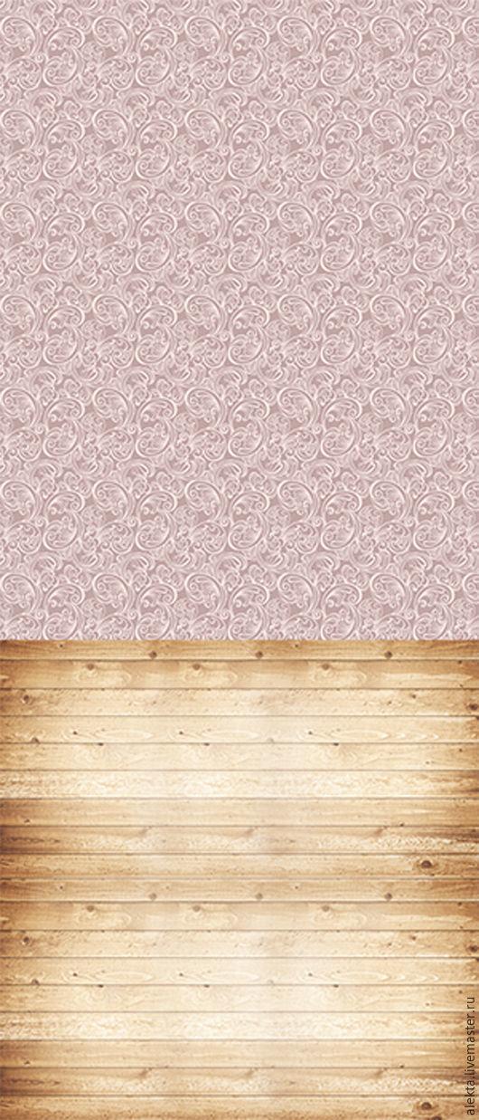 """Фото и видео услуги ручной работы. Ярмарка Мастеров - ручная работа. Купить Виниловый фотофон """"Сиреневые обои с вензелем, дубовый пол"""", 150х350 см. Handmade."""