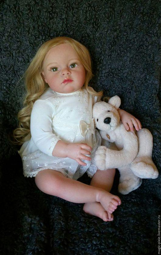 Куклы-младенцы и reborn ручной работы. Ярмарка Мастеров - ручная работа. Купить кукла реборн Tatiana. Handmade. Бежевый