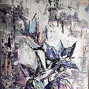 Картины и панно ручной работы. Ярмарка Мастеров - ручная работа Цветы абстракция. Handmade.
