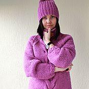 """Одежда ручной работы. Ярмарка Мастеров - ручная работа Свитер + шапка """"Berry"""". Handmade."""