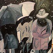 Картины и панно ручной работы. Ярмарка Мастеров - ручная работа Человек-невидимка. Handmade.