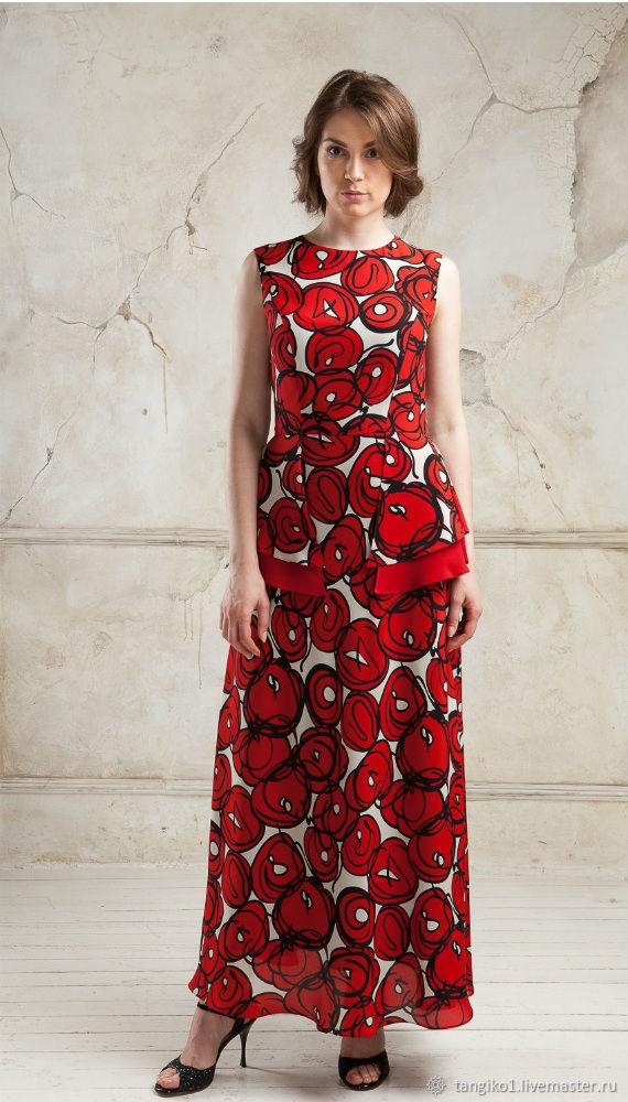 Шелковое платье в пол Carmen, Платья, Москва,  Фото №1
