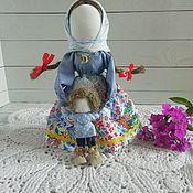 Куклы и игрушки handmade. Livemaster - original item Vedecka with a boy. Handmade.