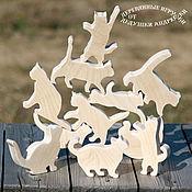 Куклы и игрушки handmade. Livemaster - original item Koto-Jenga. Kotovasiya! ) Educational toys. Cats, kittens, cats. Handmade.