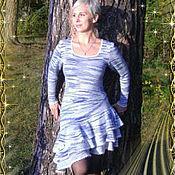 Одежда ручной работы. Ярмарка Мастеров - ручная работа Платье с воланами. Handmade.